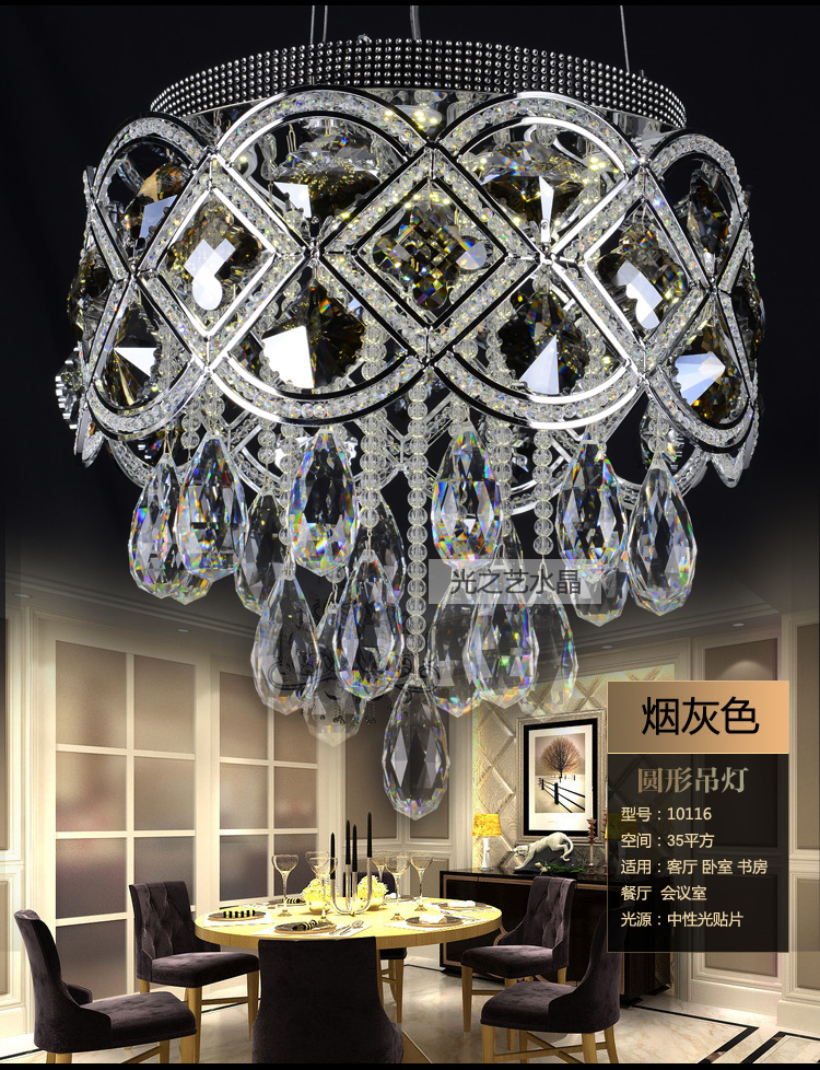 Traditional crystal chandeliers lighting gold palace light luxury traditional crystal chandeliers lighting gold palace light luxury modern rectangular dining room lamp led crystal pendant lamp in chandeliers from lights mozeypictures Image collections