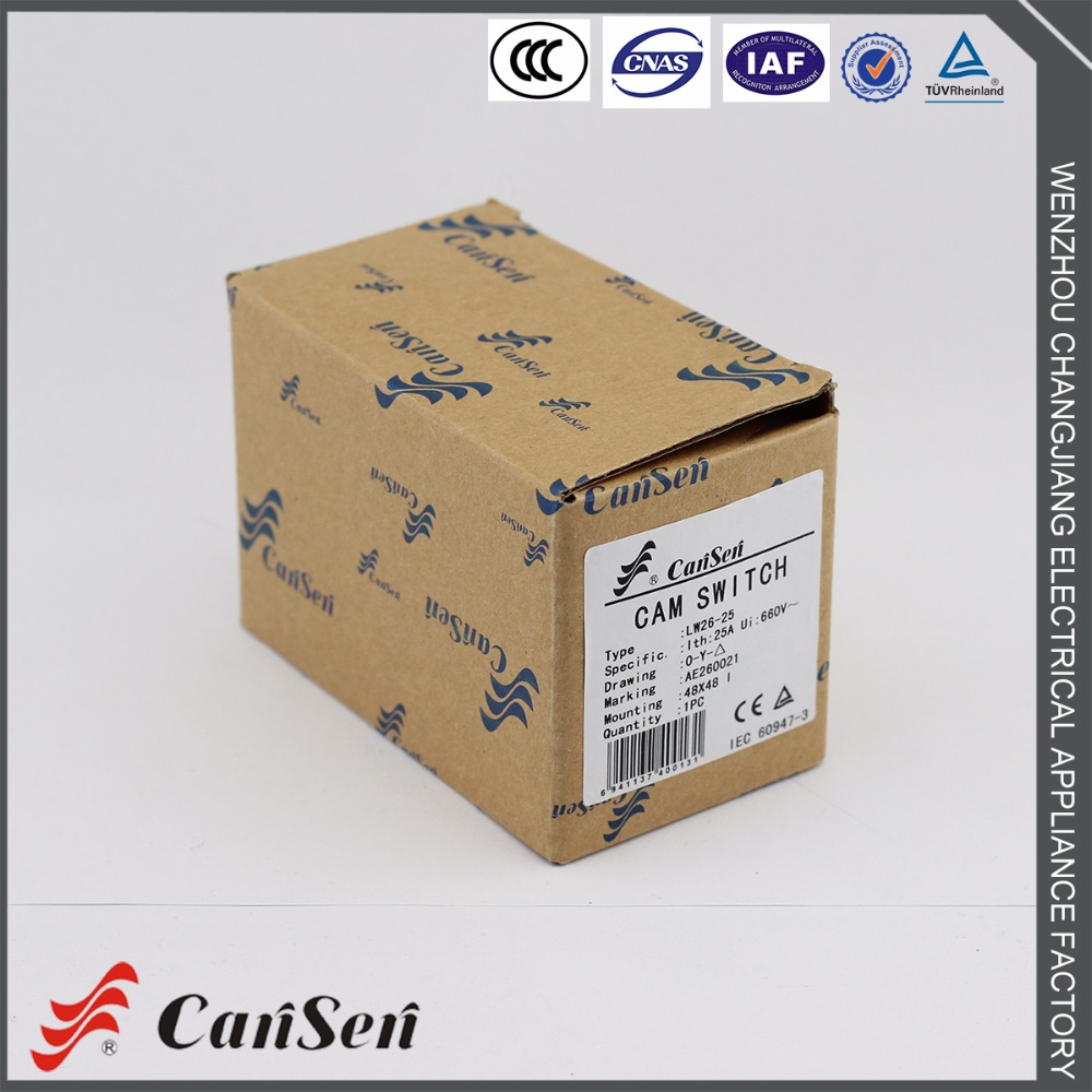 Cansen Lw26 20 20a Cam Switch Ac 440v Ui 690v 3 Position Star Delta Stardelta Switching 16 Terminals In Switches From Lights Lighting On Alibaba Group