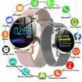 Smart Uhr Frauen Männer Herz Rate Blutdruck Monitor Fitness Tracker Sport Wasserdichte IP67 Laufen elektronischen Smart Uhren-in Damenuhren aus Uhren bei