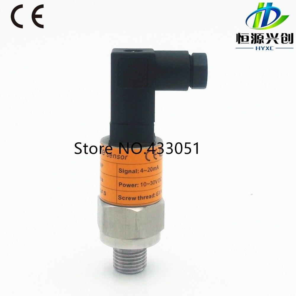 Free shipping ,-1~0~10bar/6bar/25bar, 0~10V output, G1/4, 24V DC power supply, Pressure Transmitter Pressure Transducer Sensor