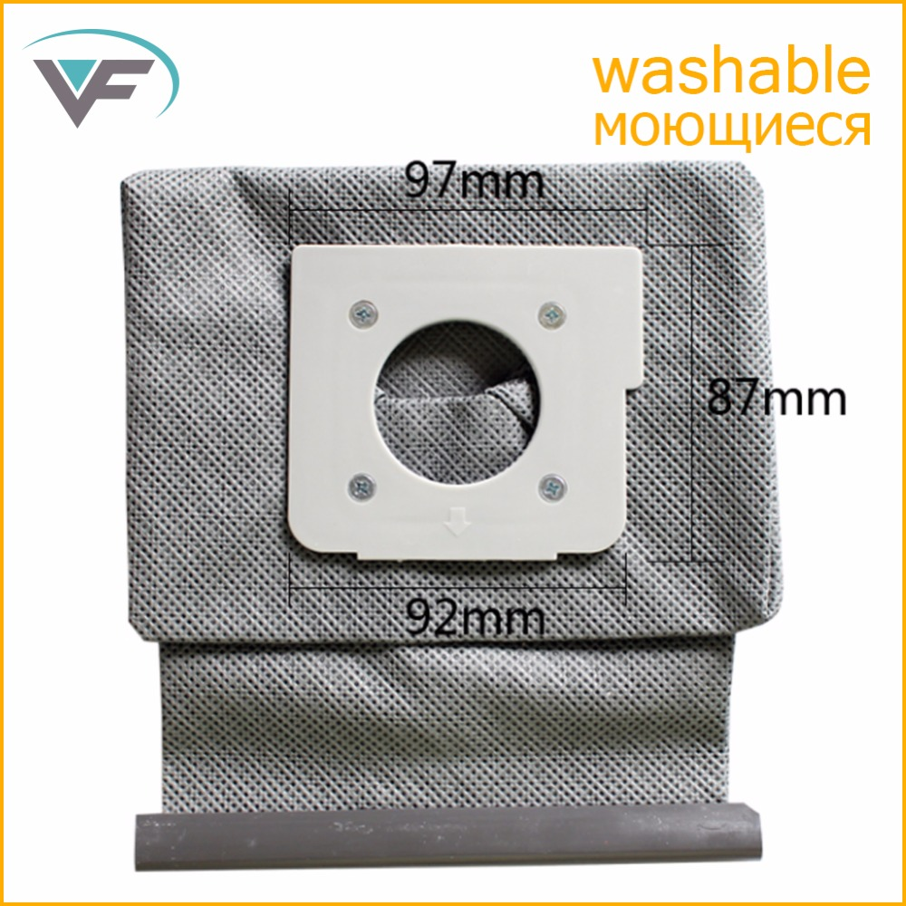 Vacuum Cleaner Bag Hepa Filter Dust Bags Cleaner Bags For LG V-743RH V-2800RH V-2800RB V-2800RY New Washable