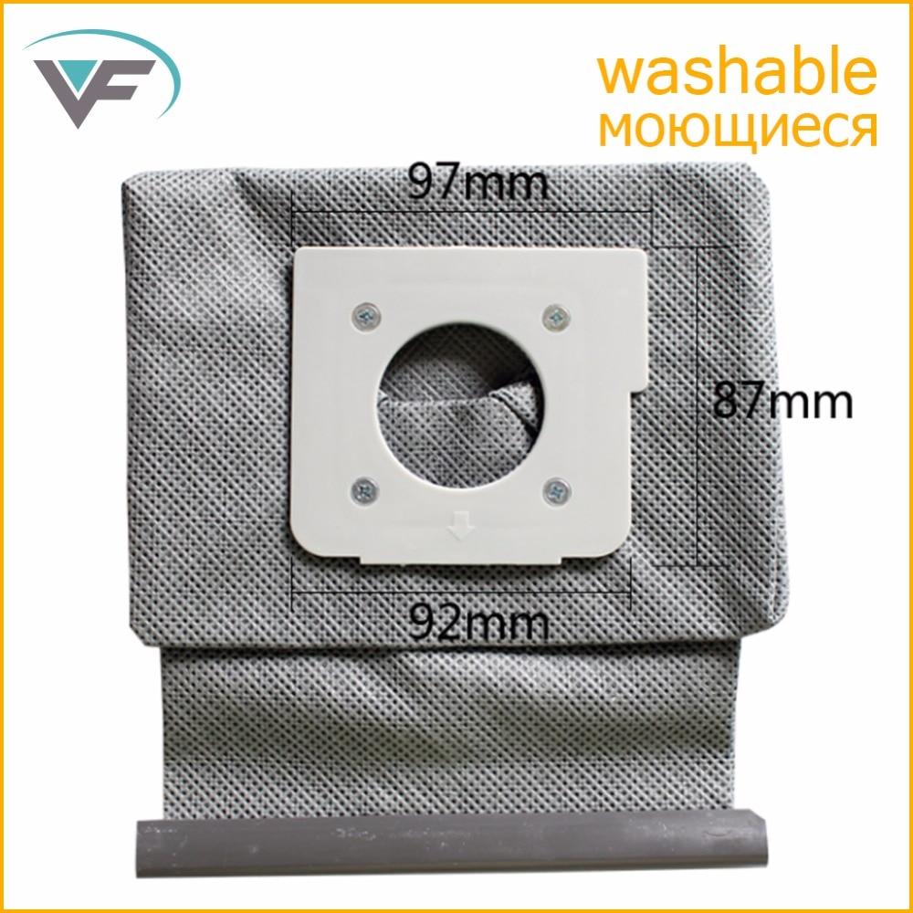Vacuum Cleaner Bag Hepa Filter Dust Bags Cleaner Bags For LG V-743RH V-2800RH V-2800RB V-2800RY New Washable