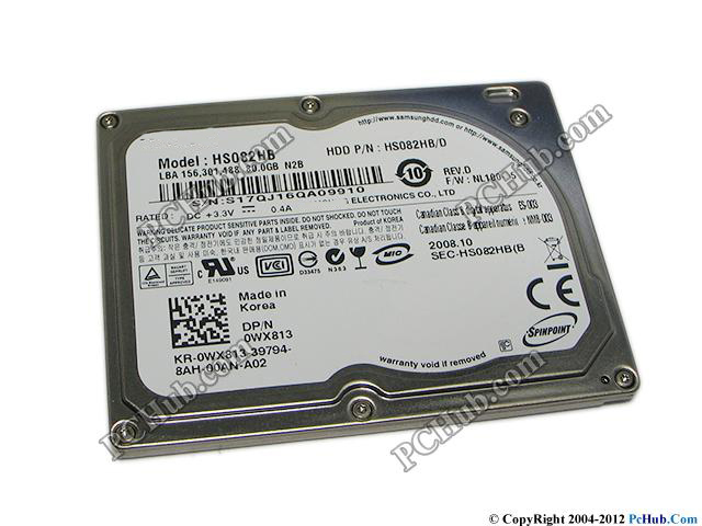 "NY 1.8 ""CE / ZIF 80GB HS082HB Hårddisk för Macbook Air A1237 MB003 HP MINI IPOD CLASSIC VIDEO HDD BYTA MK8025GAL HS06THB"