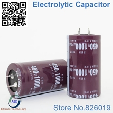 2 шт./лот 450 В 1000 мкФ радиальный DIP Алюминий электролитический Конденсаторы Размер 35*60 1000 мкФ 450 В