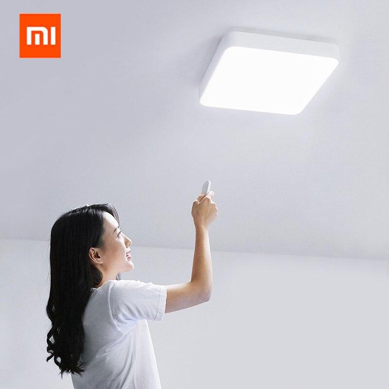 Оригинальный xiaomi mijia Yeelight умный квадратный светодиодный потолочный плюс свет умный голос/Управление приложением Mi home для спальни гостиной - 5