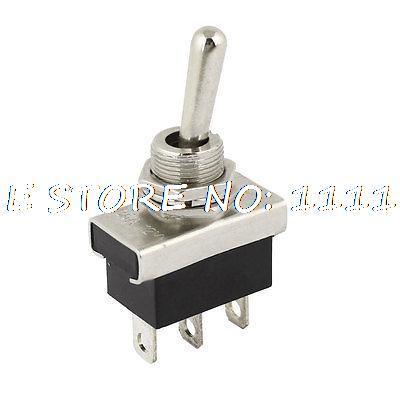 KN3D-103 AC 12V 25A 3 Pins ON/OFF/ON 3 Ways 1P2T SPDT Toggle Switch Replacement kn3d 103 ac 12v 25a 3 pins on off on 3 ways 1p2t spdt toggle switch replacement
