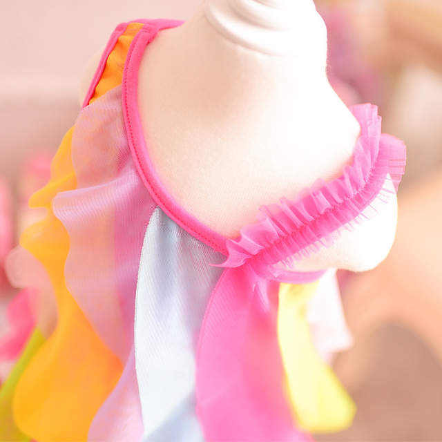 740e85e287bd New baby girls dress summer style sleeveless fancy dress for girls party  beach dress baby kids
