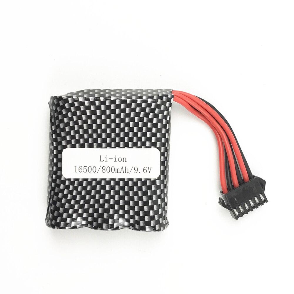 Original Rconly 6PSM plugue 9.6 V 800 mAh Li-bateria de polímero para S9115 S912 9116 de alta velocidade RC Caminhão RC carro bateria livre grátis