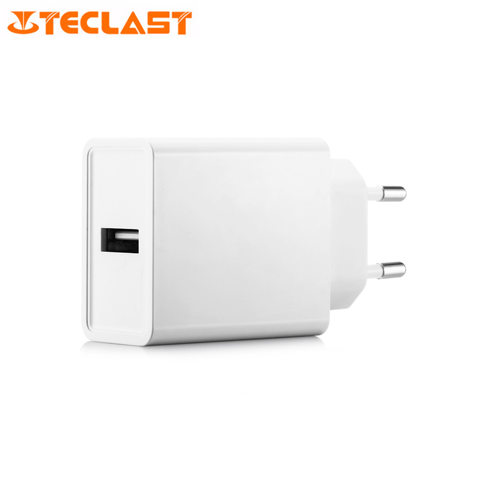 Teclast APS - KI018WE - G Fast Charger EU <font><b>Plug</b></font> for Teclast Master <font><b>T8</b></font> / T10 White Color USB Port Minimalist Lightweight and Small image