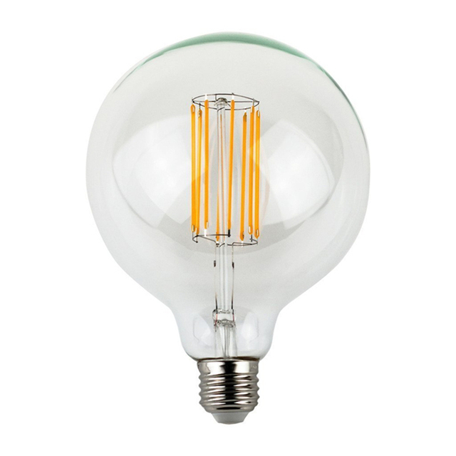 E27 4w 8w 10w G125 Cob Led Vintage Light Bulb Retro Edison Style Screw 80w Incandescent Bulb