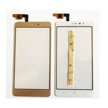 """5.5"""" Mobile Phone Touch Panel For Xiaomi Redmi Note 3 Touch Screen Sensor Digitizer Front Glass Lens + 3M Adhesive Tape"""