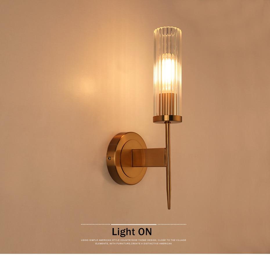 Nordic lâmpada de parede moderna arandela luz