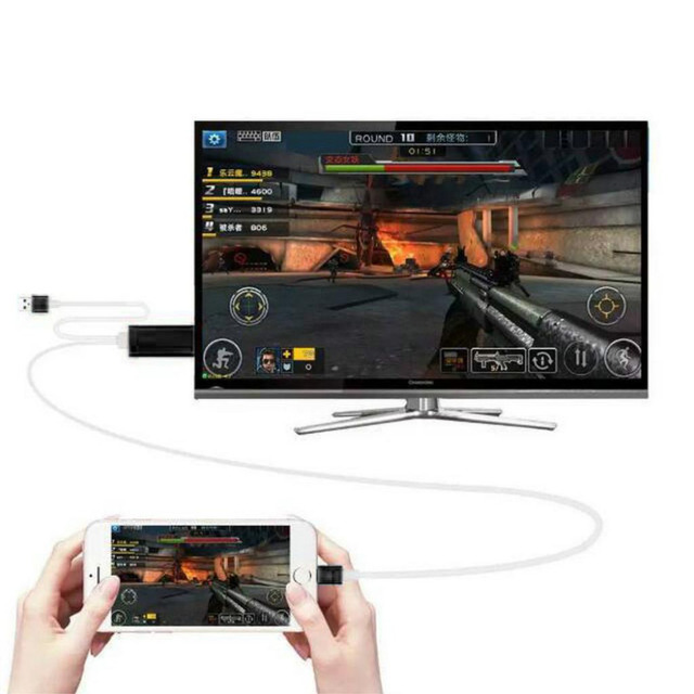 Aliexpress.com : Buy High Speed 8 Pin To HDMI HDTV AV Cable For ...
