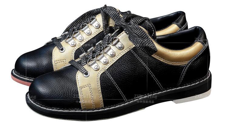Высокого качества Мужская обувь для боулинга правой Боулинг кроссовки натуральная кожаная дышащая нескользящая подошва Профессиональный