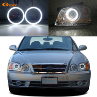 For Kia Optima MAGENTIS 2003 2004 2005 2006 smd led Angel Eyes kit Excellent Ultra bright illumination DRL