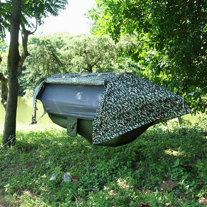 Tente de camping extérieure. 2018 nouveau suspendu arbre tente en plein air camping pêche pêche étanche moustique hamac