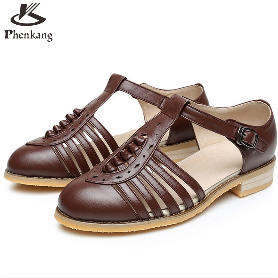 Womens sandals in size 11 - Cow Leather Big Woman Us Size 11 Designer Vintage Flat Shoes Sandals Handmade Black White Brown