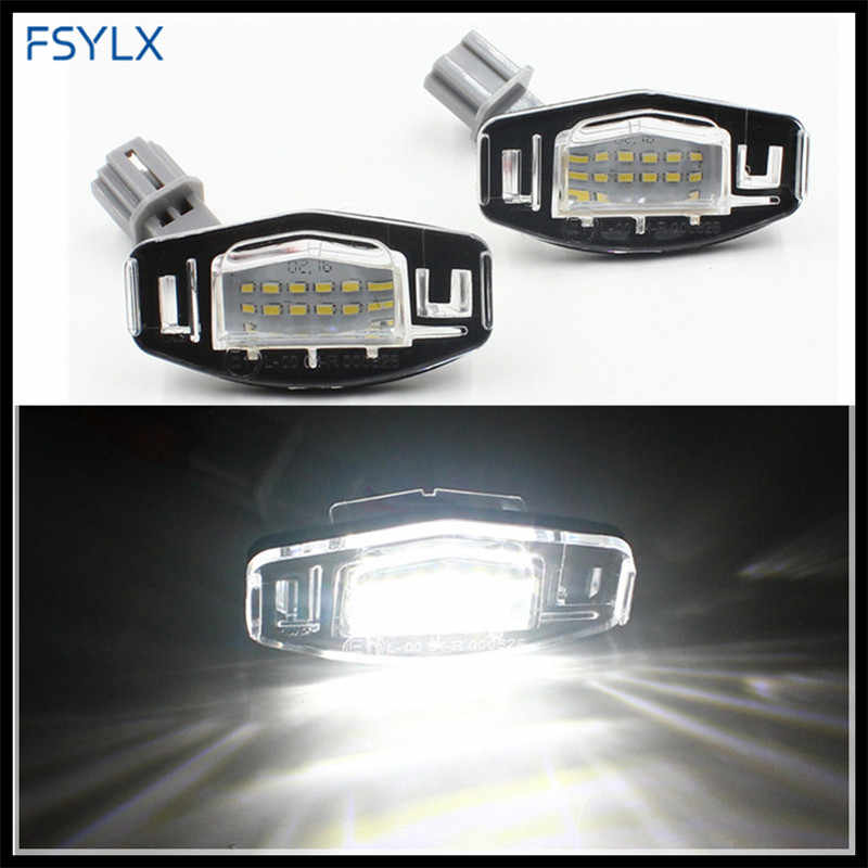 Detail Feedback Questions about FSYLX Car LED License Number