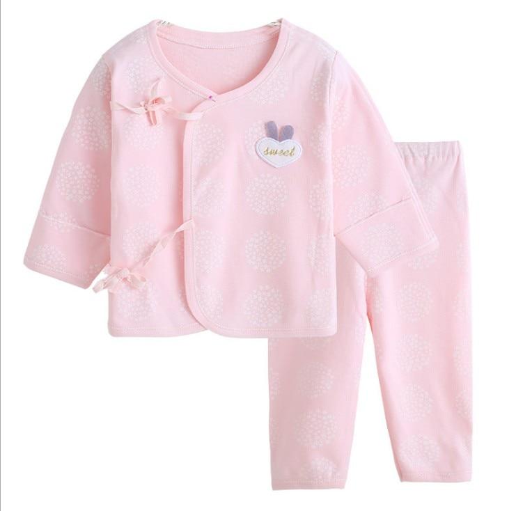 (2 Stks/set) Hoge Kwaliteit Pasgeboren Baby Kleding Set Merk Baby Jongen/meisje Kleding 100% Katoenen Ondergoed, As007 Koop Nu