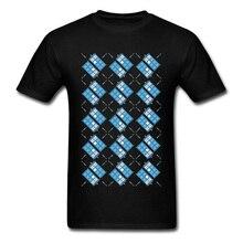 T Shirts Men T-Shirt Fashionable Gallifrey Argyle Design Tshirt Doctor Who Short Sleeve Thanksgiving Day Rife Tops Cotton Tees