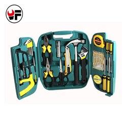27 stks reparaties gereedschap set Schroevendraaier Set mes kit in een koffer voor thuis hand tool dozen instrumenten caixa de ferramenta DN107