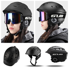 High Quality GUB 616 Ski Helmet for Men and Women Light Weight Bicycle Helmet Skiing Sports