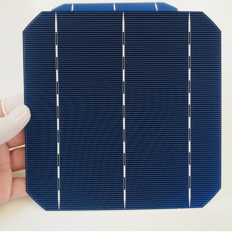 b32c067dcd771 ALLMEJORES 25pcs Monocrystalline solar cell 0.5V 4.8W Grade A Type 156mm  Photovoltaic panel cell diy 120W 12V Mono solar panel
