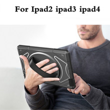 Armor Kickstand Case Funda For Apple iPad 2 3 4 Cover Tablet