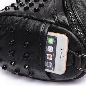 Image 4 - 2019 luxus Frauen Aus Echtem Leder Tasche Schaffell Messenger Taschen Handtaschen Berühmte Marken Designer Weiblichen Handtasche Schulter Tasche Sac