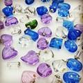 50pieces/lot mixed shape color Crystal Vials perfume pendant Rhinestone vial pendants handmade jewelry name or rice art