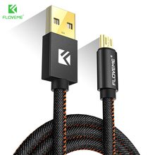 FLOVEME For iPhone Cable Micro USB Data Cables Mobile Phone Type C 1M Charger Cable For iPhone X 7 8 6 6s Samsung S8 Xiaomi Cabo
