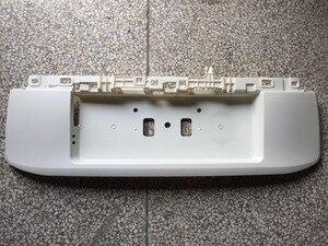 Image 2 - OE cubierta de placa de marco de matrícula trasero, ABS, con pintura para Toyota Land Cruiser Prado LC150, accesorios 2018 2019