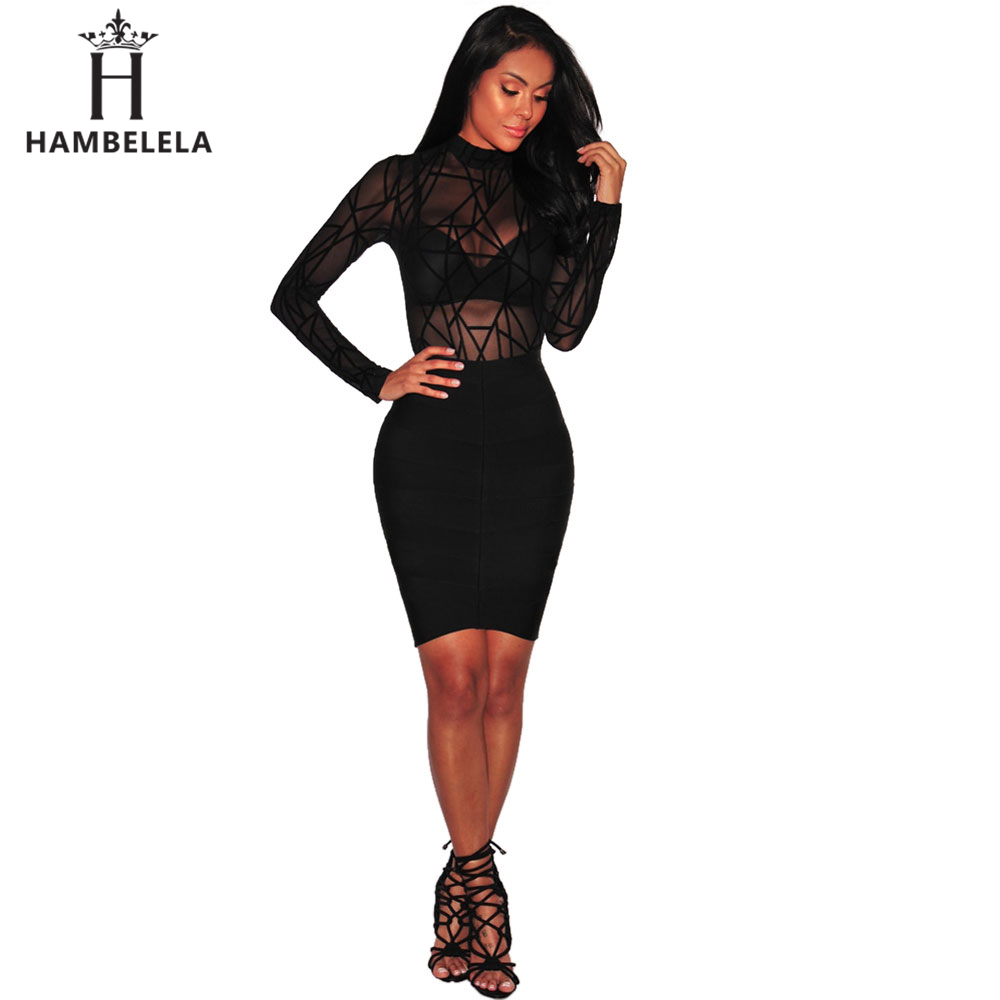 b354a8a166 ... HBLL IDress Black Red Blue Ladies Bodysuit Top Woman Long Sleeve  Rompers Bodysuit Macacao Body Feminino ...