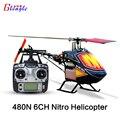 Gleagle 480N18-DFC450L 6 Canales RC RTF helicóptero DE GAS Combustible/gasolin RTF helicóptero Nitro aviones Aérea 3D Acrobacias