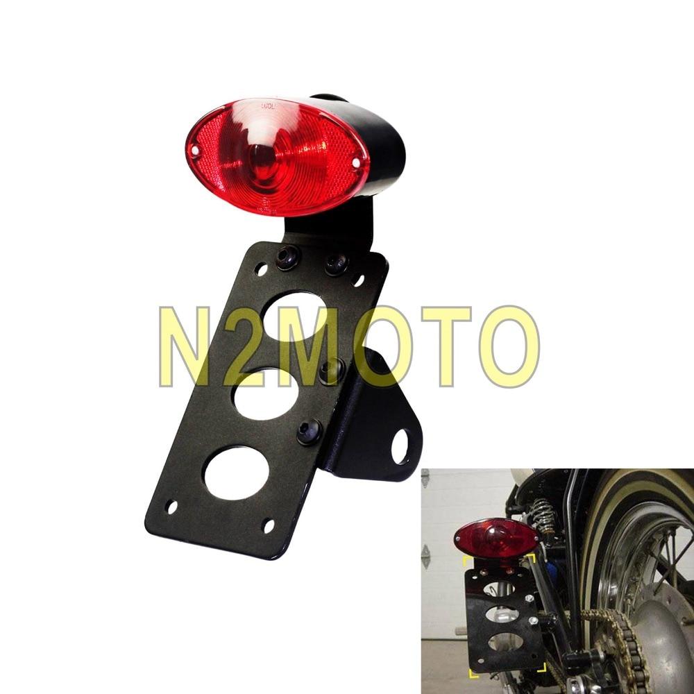 Universal Dual Light Heckbremse Blinker Licht Motorrad Integriertes R/ücklicht