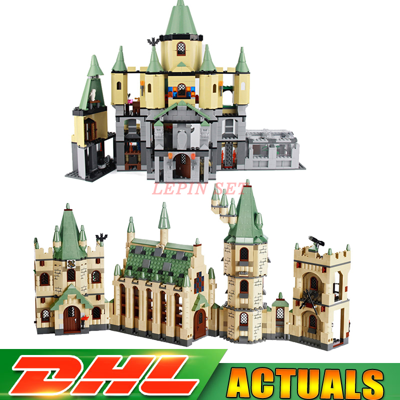 Lepin 16029 The magic hogwort castle+16030 The Creative Movies Hogwarts Castle Sets Educational Building Blocks Bricks Model Toy