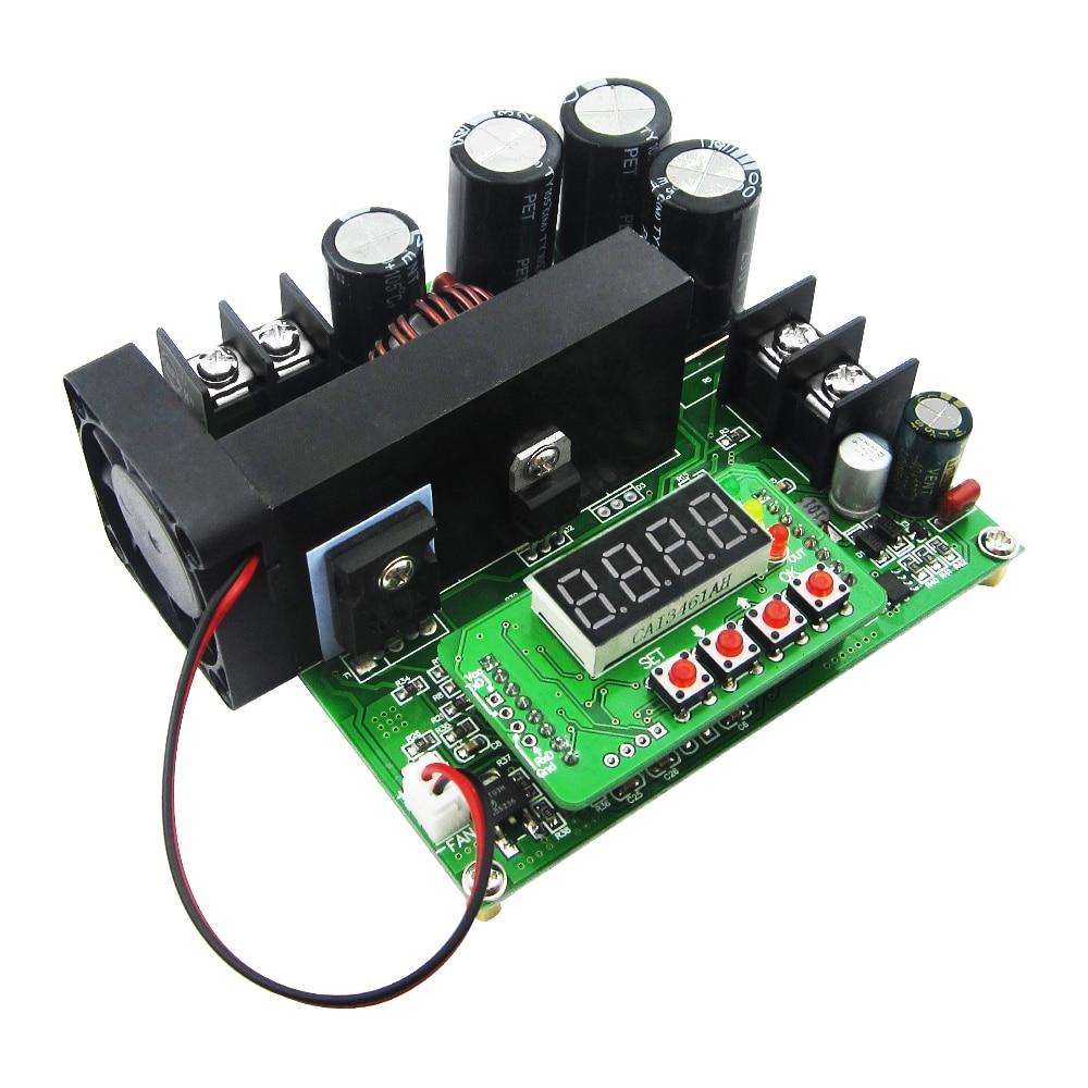 B900W Input 8-60V to 10-120V 900W DC Converter High Precise LED Control Boost Converter DIY Voltage Transformer Module Regulator