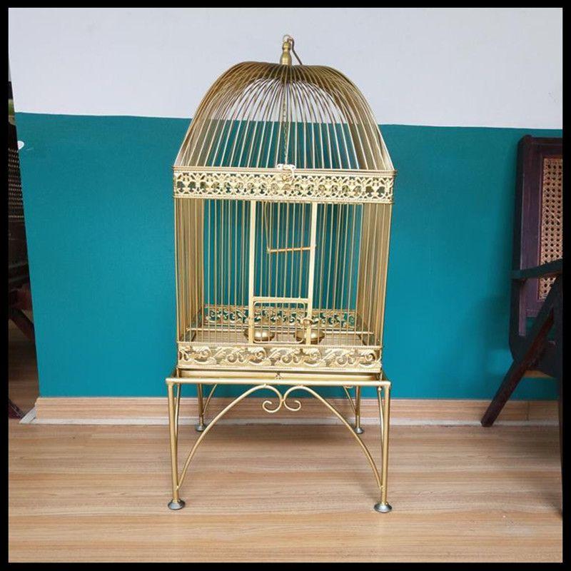 1 pièces Pigeon starling perroquet muguet peau de tigre scorpion tacheté brodé oeil sacré vent carré cage à oiseaux