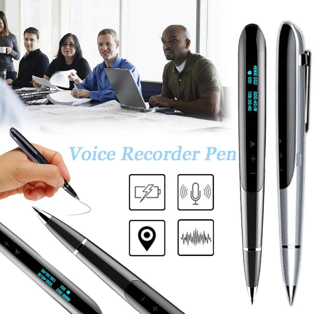 Unterhaltungselektronik Usb Digital Recorder Diktiergerät Mini Kanzler Versteckte Audio Mikrofon Telefon Aufnahme Kleinste Stift-stick Gerät Tragbares Audio & Video