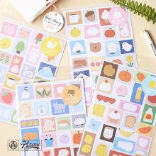 1sheets Adhesive Sticker Small Things Series Decoration Diy Originality Sticky Notes School Office Supplies Stationery(China)