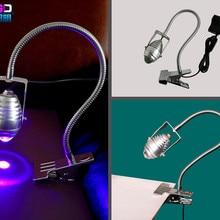 30 W 365nm ультрафиолетовый УФ Сушилка для ногтей Светодиодный УФ-клей сушка лампа зеленое масло фиолетовая лампа для маникюра для гель-лака