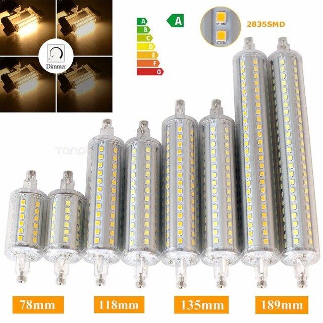 Dimmable R7S LED Flood Light J78 J118 J135 J189 LED Corn Bulb Light