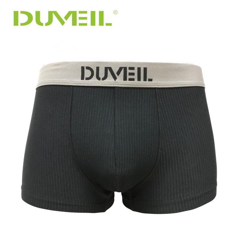 Men's Stripes Cotton Breathable Sports Underwear  Flexible Four Corners Underpants 3D Convex Soft Boxer Shorts For CEO