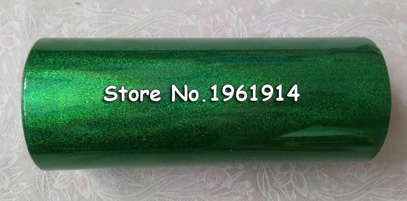 Горячее тиснение фольгой Голографическая фольга Горячее тиснение на бумаге или пластике 16 см x 120 м зеленый песок цвет