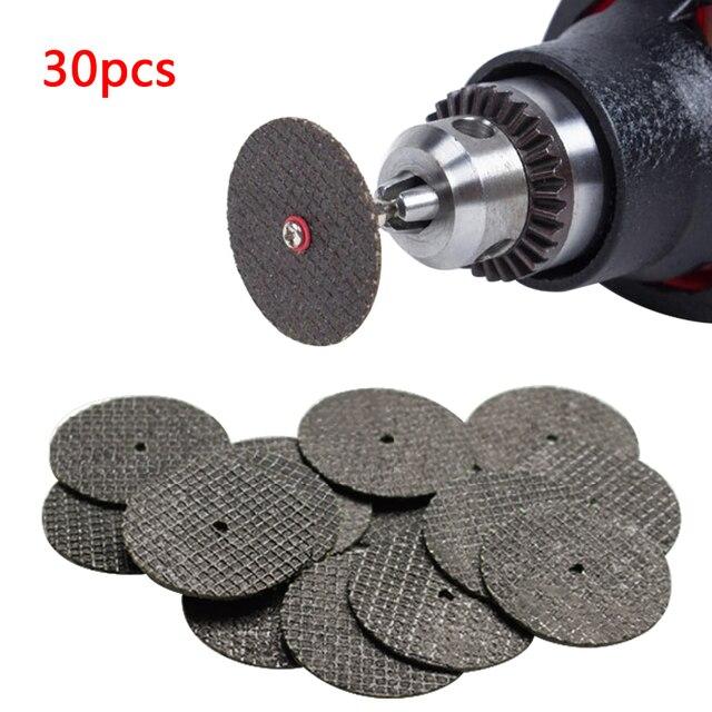 30 個金属切削ディスク研磨工具グラインダー回転工具丸鋸刃木工金属ドリル accesso
