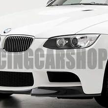 Передний спойлер V STYLE из настоящего углеродного волокна для BMW 3-SERIES E90 E92 E9X M3 Бампер 2007-2013 B087