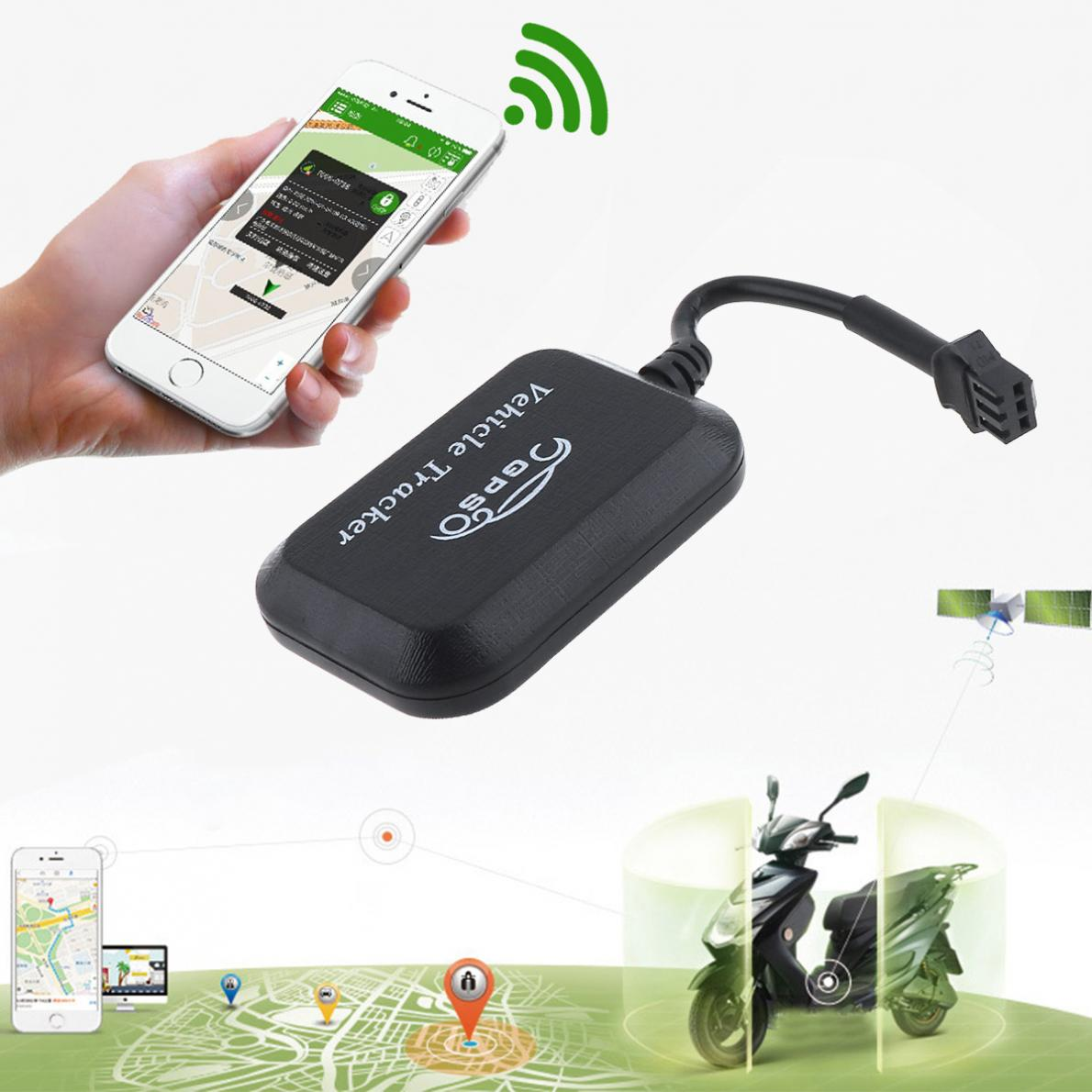 GT008 9-36V DC Mini GPS Tracker Locator Real Time Tracking System Device GPS Locator for Car Vehicle Motorcycle
