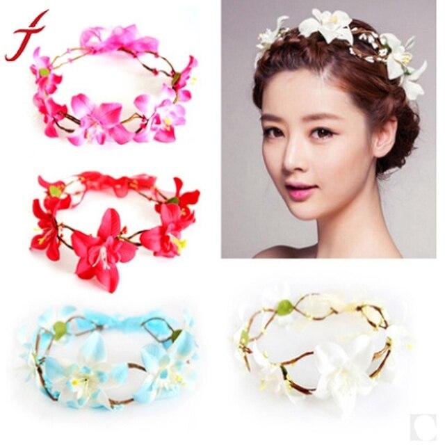 Fashion Headbands Accessories For Women Ladies Elegant Simulation Flower  Headband 4 Colors haar accessoires hairband 8b38baf3126
