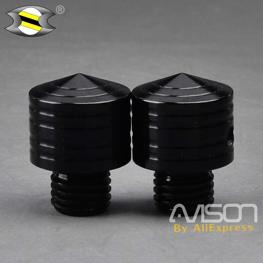 Motorcycle CNC Accessories Mirror Screw Adapters Side Mirror Bolts Screws for Yamaha PCX 125 <font><b>150</b></font> 2012-2018 image