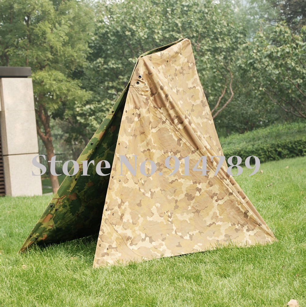 Vietnam War US Military Army Outdoor Tactical Camouflage Half Shelter Tent 36271-in Costume Props from Novelty u0026 Special Use on Aliexpress.com | Alibaba ... & Vietnam War US Military Army Outdoor Tactical Camouflage Half ...
